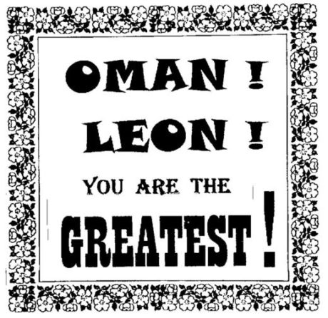 001 oct 09 Oman Leon try three