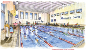 Mpls. Swims Plunges in With Pool Proposal to Park Board