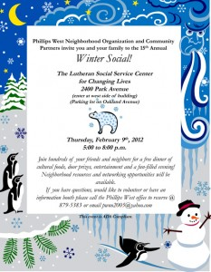 Phillips West Neighborhood Upcoming Events