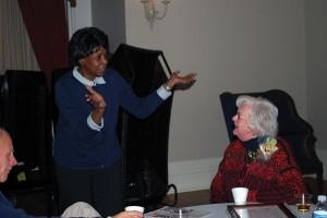 Muriel Simmons & Joyce Krook