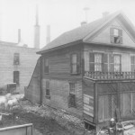 Photo: Kirby Spencer's house on Washington Avenue in the 1860's.