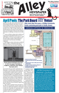 """April 2015 Alley Newspaper – APRIL """"FOOL"""" POOL?  NO! """"THE POOL"""" REALLY!"""
