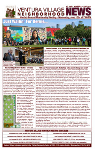 June 2015 Ventura Village Neighborhood News