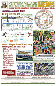 August 2015 Ventura Village Neighborhood News
