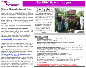 EPIC Report-August 2015