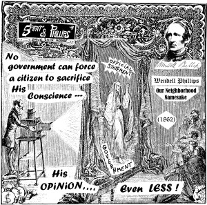 No government can force a citizen to sacrifice his conscience – October 2015 Dave's Dumpster