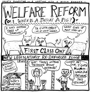 Welfare Reform: Dave's Dumpster-February 2015