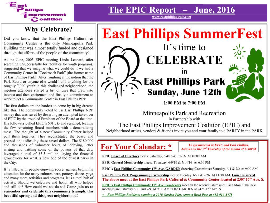 EPICAlleyReportforJune2016