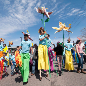 Meetings since Feb., thousands of Workshop hours in Apr. & May, donated materials & dollars all year = MayDay Parade & Park Pageant for tens of thousands of participants & viewers May 7th!