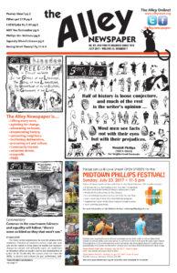 July 2017 Alley Newspaper