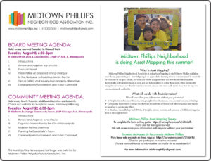 Midtown Phillips Neighborhood Association News-August 2017