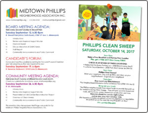 Midtown Phillips Neighborhood Association News-September 2017