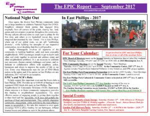 EPIC Report-September 2017