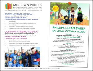 Midtown Phillips Neighborhood Association News-October 2017