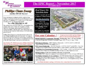 EPIC Report-November 2017