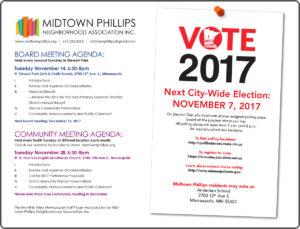 Midtown Phillips Neighborhood Association News-November 2017