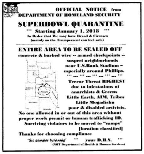 Superbowl Quarantine | The Alley Newspaper