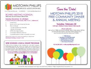 Midtown Phillips Neighborhood Association News-December 2017