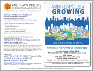 Midtown Phillips Neighborhood Association News-January 2018