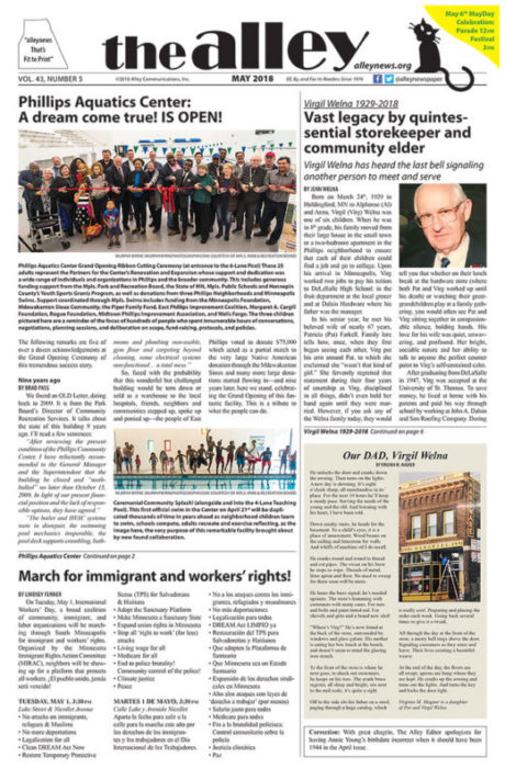 May 2018 Alley Newspaper