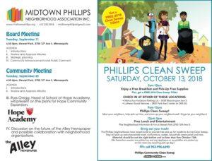 Midtown Phillips Neighborhood News – September 2018