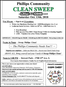 Phillips Community Clean Sweep