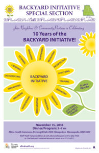Backyard Initiative Celebration