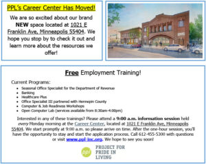 PPL's Career Center has moved