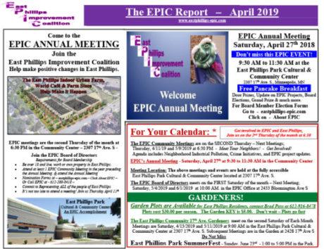 EPIC April 2019