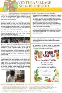 Backyard Community Health Hub August 2019