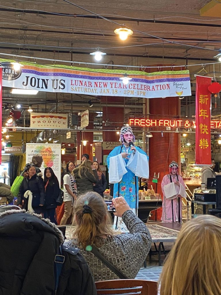 A Chinese Lunar New Year celebration at the Midtown Global Market