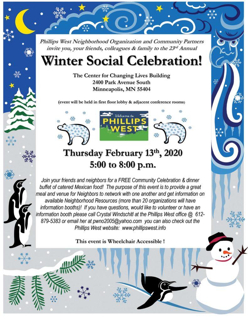 Phillips West Winter Social Celebration