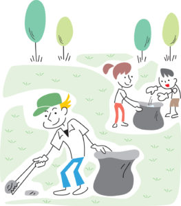 Earth Day Cemetery Clean-Up