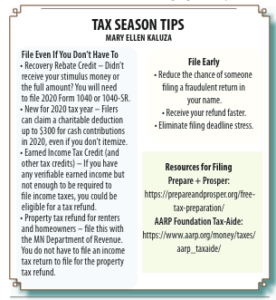 Free Tax Prep and Financial Services