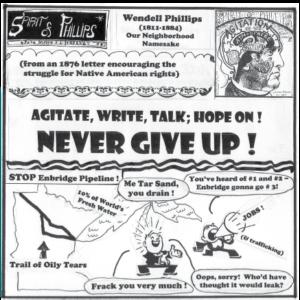 Spirit of Phillips Cartoon