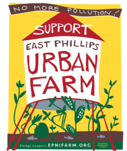 East Phillips Urban Farm Gets Much Needed Support from Council Vice-President Jenkins