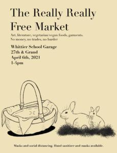 Really Really Free Market April 6th