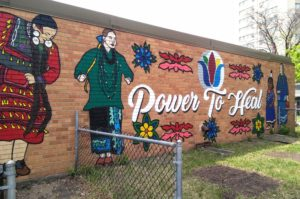 Minnesota Indian Women's Resource Center Mural Unveiling