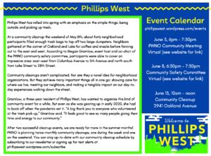 Phillips West Neighborhood Organization News
