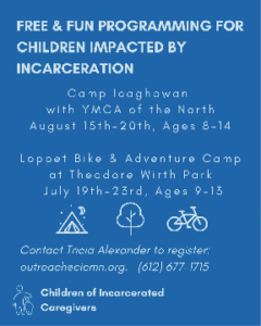 Free & Fun Programming For Children Impacted By Incarceration