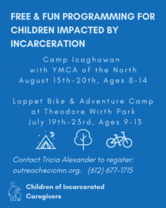 Free and Fun Programming for Children Impacted by Incarcaration