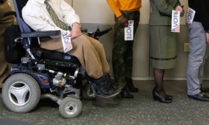 Help for Voters Living with Disabilities