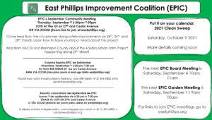East Phillips Neighborhood News