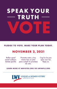 Pledge to Vote!  Make Your Plan Today!